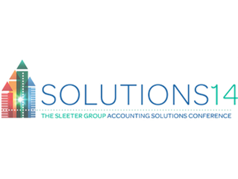 The Sleeter Group Accounting Solutions Conference 2014