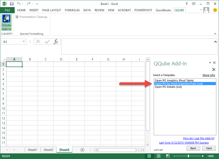 excel save template