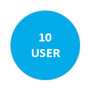 Multi-User 10 Users