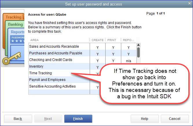 QuickBooks Pro/Premiere Setup QuickBooks User