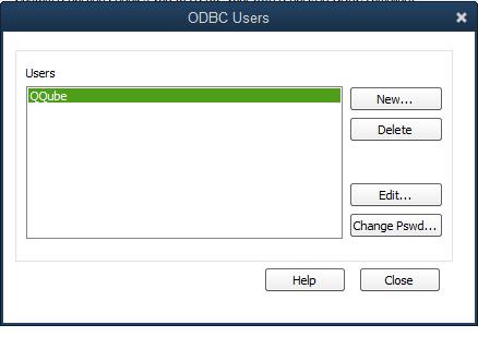 QQube Configuration - Changing Custom Report User Password Step 3