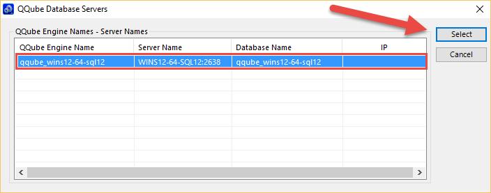 QQube server found