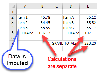 Traditional Excel