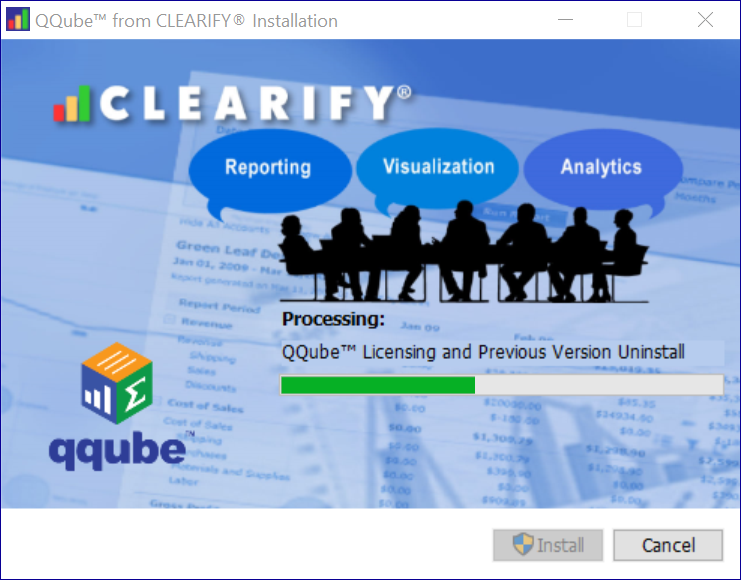 QQube Installer checking for Licensing and Previous Versions of QQube