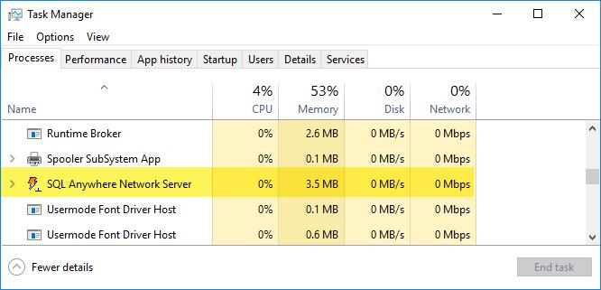 Stop Network Server