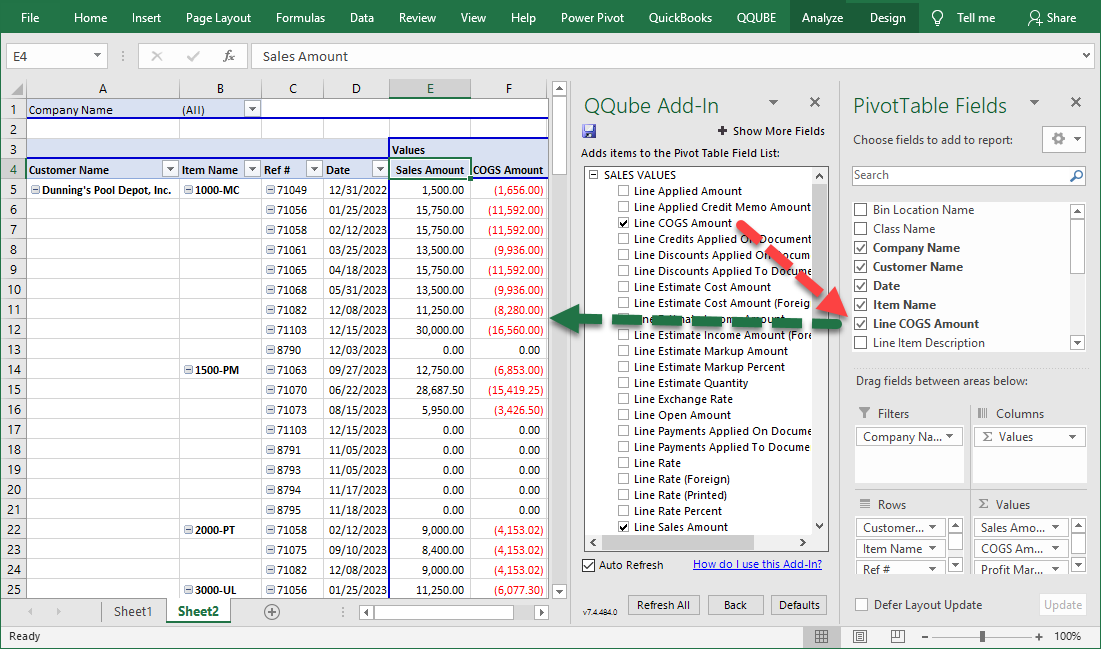 Excel Dynamic Pivot Table