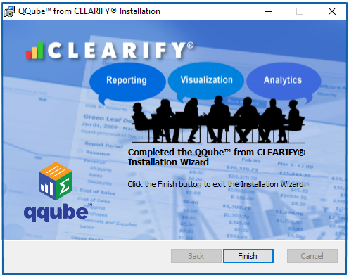 QQube Installation Finish